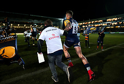 Francois Hougaard of Worcester Warriors runs out to face London Irish - Mandatory by-line: Robbie Stephenson/JMP - 22/12/2017 - RUGBY - Sixways Stadium - Worcester, England - Worcester Warriors v London Irish - Aviva Premiership
