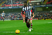 Grimsby Town forward Ahkeem Rose during the EFL Sky Bet League 2 match between Grimsby Town FC and Crawley Town at Blundell Park, Grimsby, United Kingdom on 17 November 2018.