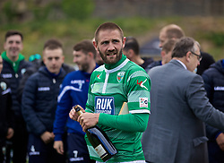 RHOSYMEDRE, WALES - Sunday, May 5, 2019: The New Saints' Greg Draper after the FAW JD Welsh Cup Final between Connah's Quay Nomads FC and The New Saints FC at The Rock. (Pic by David Rawcliffe/Propaganda)