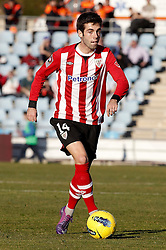 08.01.2012, Stadion Coliseum Alfonso Perez, Getafe, ESP, Primera Division, FC Getafe vs Athletic Bilbao, 18. Spieltag, im Bild Athletic de Bilbao's Markel Susaeta // during the football match of spanish 'primera divison' league, 18th round, between FC Getafe and Athletic Bilbao at Coliseum Alfonso Perez stadium, Getafe, Spain on 2012/01/08. EXPA Pictures © 2012, PhotoCredit: EXPA/ Alterphotos/ Alvaro Hernandez..***** ATTENTION - OUT OF ESP and SUI *****