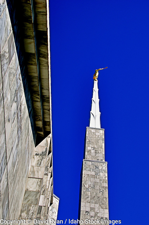 The LDS Temple, Main Spire, Boise, Idaho