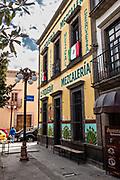 La Piqueria Mezcaleria in the state capital of San Luis Potosi, Mexico.