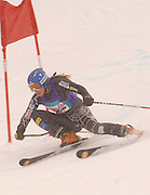 Petoskey's Victoria McVicker on her first of two giant slalom runs during the 2010 Division II MHSAA State Ski Finals.