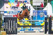 Peter Moloney - Esi Carvalho<br /> FEI World Breeding Jumping Championships for Young Horses 2016<br /> © DigiShots