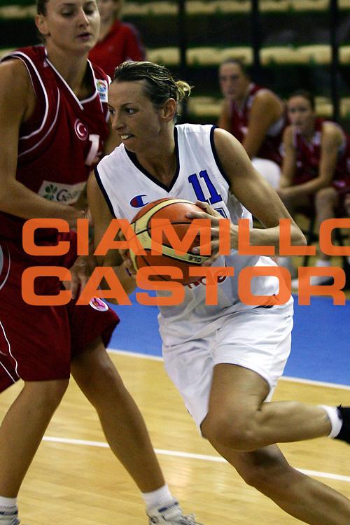 DESCRIZIONE : Chieti Torneo Internazionale Basket Femminile 10 Nazioni Italia Turchia<br /> GIOCATORE : Macchi<br /> SQUADRA : Italia<br /> EVENTO : Torneo Internazionale Basket Femminile 10 Nazioni<br /> GARA : Italia Turchia<br /> DATA : 21/08/2006<br /> CATEGORIA : Penetrazione<br /> SPORT : Pallacanestro<br /> AUTORE : Agenzia Ciamillo-Castoria/L.Lussoso