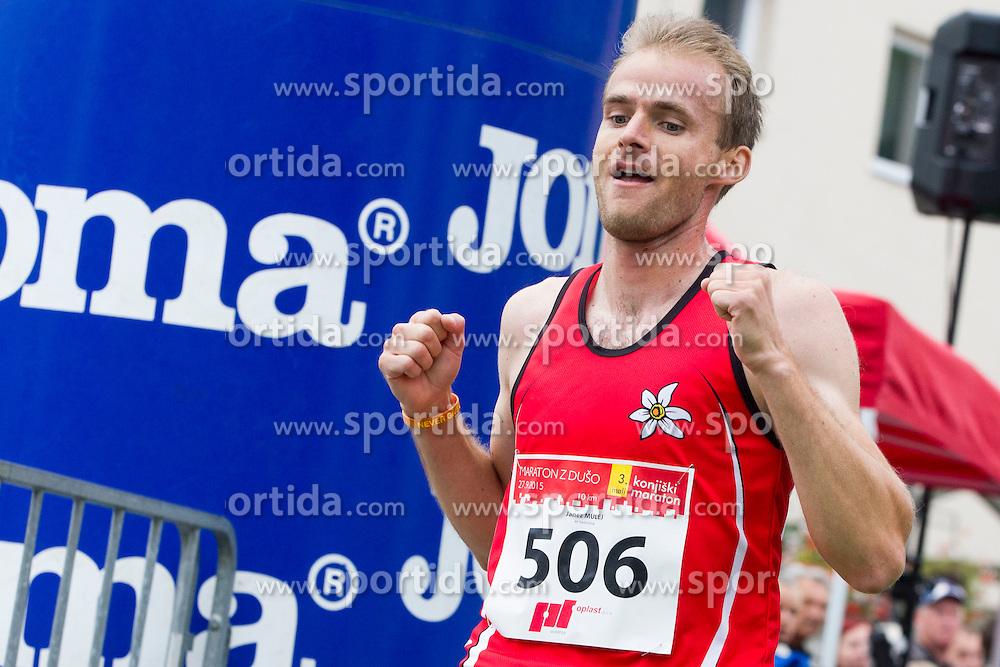 Janez Mulej at 3rd Marathon of Slovenske Konjice 2015 on September 27, 2015 in Slovenske Konjice, Slovenia. Photo by Urban Urbanc / Sportida