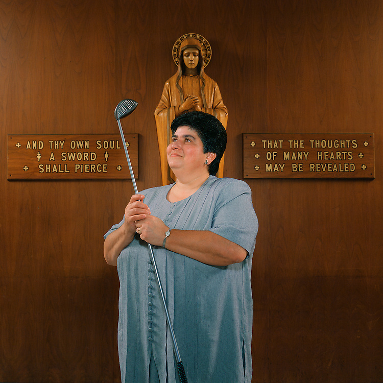 The Golfing Nun