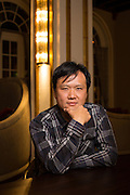 Buddy Solitaire director Kuang Lee poses for a portrait at The Westin San Jose in San Jose, California, on March 3, 2016. (Stan Olszewski/SOSKIphoto)