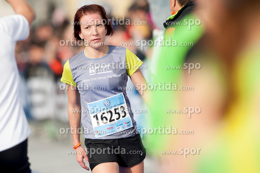 Sasa Pisk of Slovenia during 19th Ljubljana Marathon 2014 on October 26, 2014 in Ljubljana, Slovenia. Photo by Urban Urbanc / Sportida.com