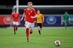 MERTHYR TYDFIL, WALES - Thursday, November 2, 2017: Wales' Sam Reynolds during an Under-18 Academy Representative Friendly match between Wales and Newport County at Penydarren Park. (Pic by David Rawcliffe/Propaganda)