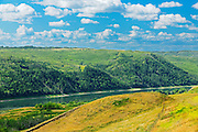 Scenic in the Peace River Valley and the Peace River<br />Dunvegan<br />Alberta<br />Canada