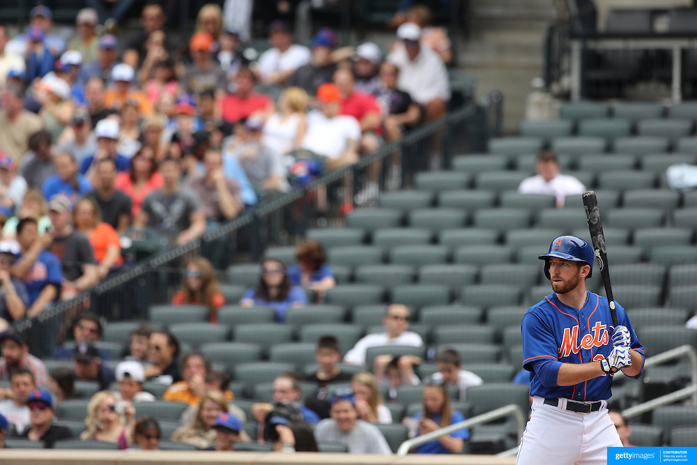 Ike Davis, New York Mets, during the New York Mets V Miami Marlins, Major League Baseball game which went for 20 innings and lasted 6 hours and 25 minutes. The Marlins won the match 2-1. Citi Field, Queens, New York. 8th June 2013. Photo Tim Clayton