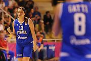 Vannes 17 Giugno 2013 <br /> Eurobasket Women 2013<br /> Italia - Russia<br /> Nella foto: bagnara<br /> Foto Ciamillo