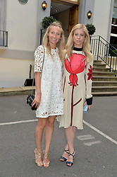 Left to right, MARTHA WARD and VIOLET VESTEY at an exclusive showing of the Ralph Lauren Collection Spring 2014 Runway Collection held at the legendary Abbey Road Studios, Abbey Road, London NW8 on 21st May 2014.
