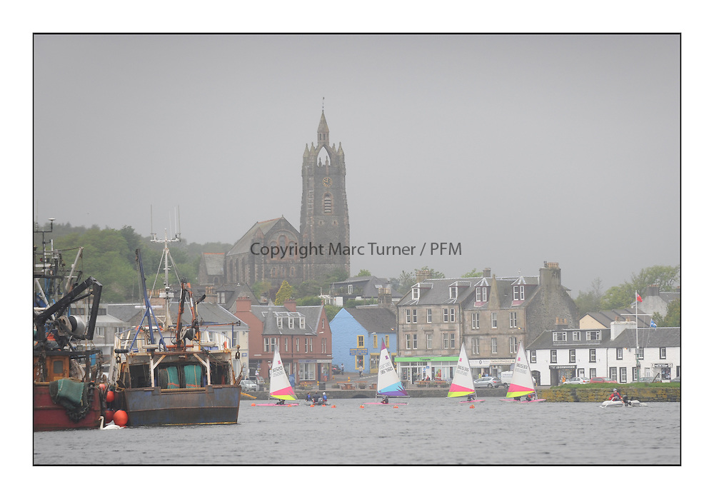 The Brewin Dolphin Scottish Series, Tarbert Loch Fyne...Stramash sailing with Shirley Robertson.