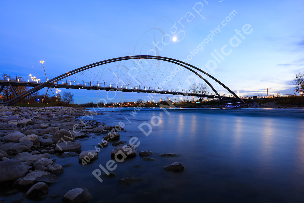The city skyline and the Bow River from the newly restored park on St. Patricks Island<br /> <br /> ©2015, Sean Phillips<br /> http://www.RiverwoodPhotography.com
