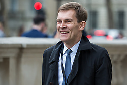 London, UK. 7 May, 2019. Director of Communications Seumas Milne arrives at the Cabinet Office to attend continuing cross-party talks between representatives of the Government and the Labour Party.