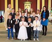 Skeoughvosteen Communion 2014