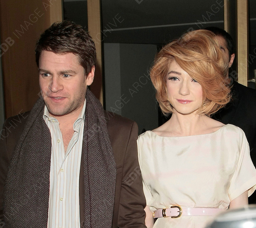 04.FEBUARY.2010 - LONDON<br /> <br /> NICOLA ROBERTS AND BOYFRIEND CHARLIE FENNELL LEAVING NOBU RESTAURANT, BERKLEY SQAURE BEFORE HEADING TO THE MAYFAIR HOTEL.<br /> <br /> BYLINE: EDBIMAGEARCHIVE.COM<br /> <br /> *THIS IMAGE IS STRICTLY FOR UK NEWSPAPERS AND MAGAZINES ONLY FOR WORLD WIDE SALES AND WEB USE PLEASE CONTACT EDBIMAGEARCHIVE - 0208 954 5968*