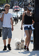 04.JUNE.2010 - LONDON<br /> <br /> SADIE FROST WALKING THROUGH PRIMROSE HILL WITH HER SON AND DOGS.<br /> <br /> BYLINE MUST READ: EDBIMAGEARCHIVE.COM<br /> <br /> *THIS IMAGE IS STRICTLY FOR UK NEWSPAPERS AND MAGAZINES ONLY*<br /> *FOR WORLDWIDE SALES AND WEB USE PLEASE CONTACT EDBIMAGEARCHIVE - 0208 954 5968*