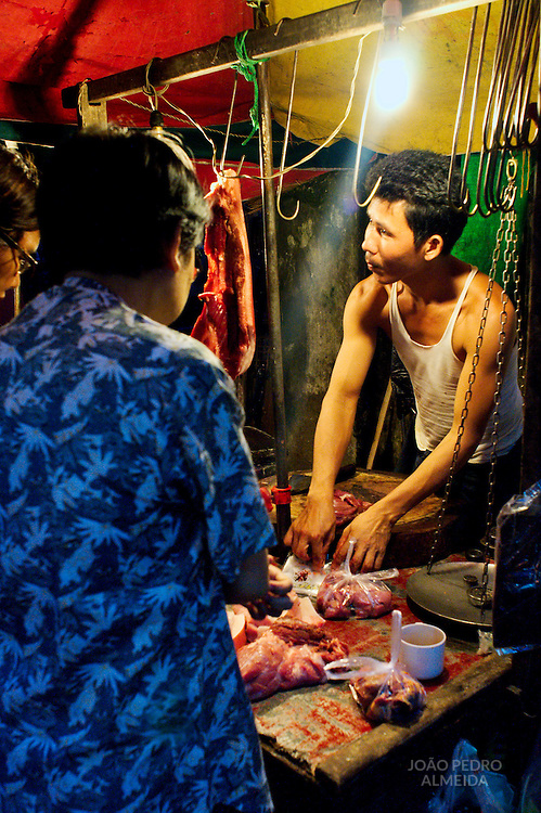 Yangon's night market