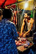 Yangon's night market