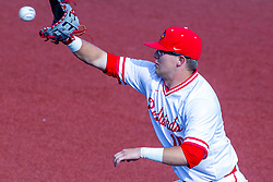 NORMAL, IL - May 01: Jack Butler during a college baseball game between the ISU Redbirds and the Indiana State Sycamores on May 01 2019 at Duffy Bass Field in Normal, IL. (Photo by Alan Look)