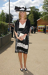 VICTORIA BOND-ELLIOT at the 3rd day - Ladies Day of Roayl Ascot 2006 on 22nd June 2006.<br />