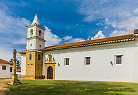 old church of Villa de Leyva Boyaca in Colombia South America
