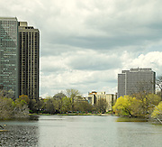 Looking Toward the Mies Apartment Buildings on the North End of Lincoln Park