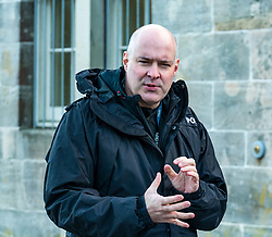 Pictured: Scottish Partnership Against Rural Crime (SPARC) initiative launch. The Scottish Partnership Against Rural Crime (SPARC) launches a new approach to tackling livestock attacks and trauma by dogs at Penicuik House, Penicuik Estate, Midlothian. Police Scotland, NFU Mutual, NFU Scotland, Scottish Land and Estates, Scottish Business Resilience Centre and the Scottish Government are members of Scottish Partnership Against Rural Crime (SPARC) working together to prevent crime and protect rural communities. Pictured: Detective Chief Superintendent John McKenzie, chairman of SPARC. Sally Anderson / Edinburgh Elite media