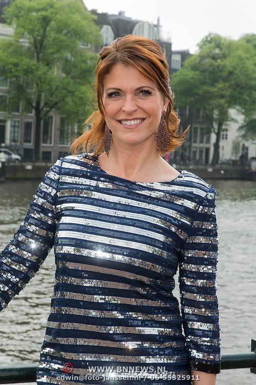 NLD/Amsterdam/20140430 - Clipopname K3 'Drums gaan boem', Josje Huisman, Karen Damen