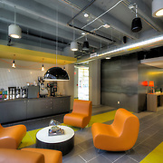 Coffee Bar at newly renovated Folgers Coffee Plant, renovated into apartments.