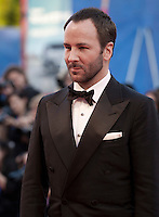 Director Tom Ford at the premiere of the film Nocturnal Animals at the 73rd Venice Film Festival, Sala Grande on Friday September 2nd 2016, Venice Lido, Italy.