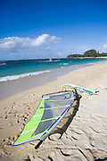 Windsurfing, Kanaha Beach Park, Maui, Hawaii<br />