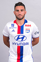 Jordan Ferri during the photocall of Lyon for new season of Ligue 1 on September 22nd 2016 in Lyon<br /> Photo : OL / Icon Sport