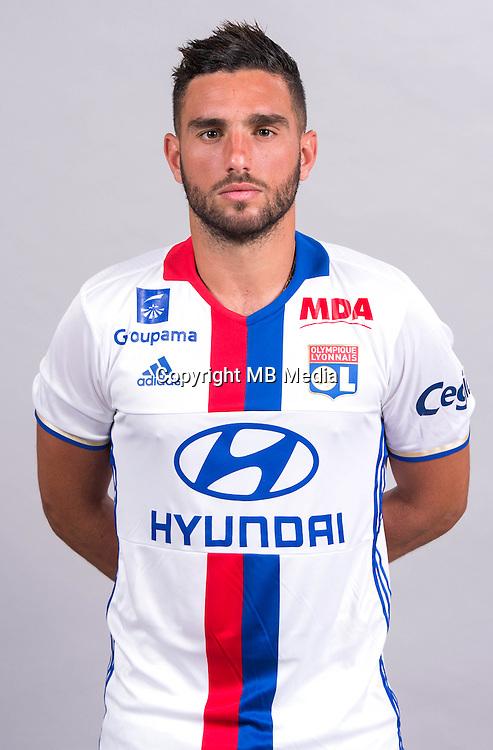 Jordan Ferri during the photocall of Lyon for new season of Ligue 1 on September 22nd 2016 in Lyon<br /> Photo : OL / Icon Sport
