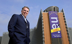 BRUSSELS, BELGIUM - APRIL-19-2006 - Horacio E. Gutierrez - Associate General Counsel for Microsoft, is the chief negotiator for Microsoft in their legal battle with the European Commission.(PHOTO © JOCK FISTICK)