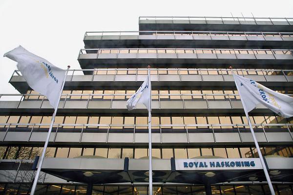 Nederland, Nijmegen, 28-2-2012Het gebouw, kantoor van de Royal Haskoning, ingenieursbureau.Foto: Flip Franssen/Hollandse Hoogte