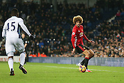 Marouane Fellaini Midfielder of Manchester United<br />  during the Premier League match between West Bromwich Albion and Manchester United at The Hawthorns, West Bromwich, England on 17 December 2016. Photo by Phil Duncan.