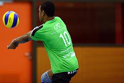 22-10-2014 NED: Selectie SSS seizoen 2014-2015, Barneveld<br /> Topvolleybal SSS Barneveld klaar voor het nieuwe seizoen 2014-2015 / Shariff Gabriel