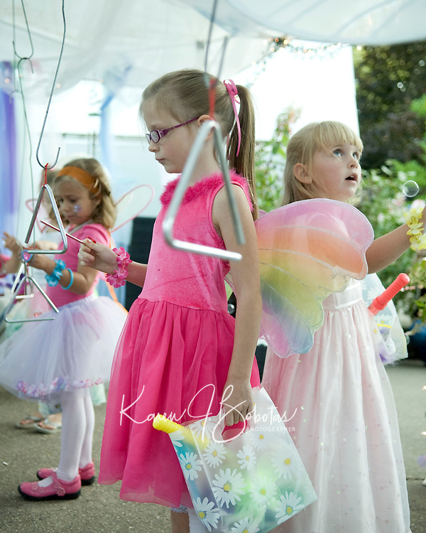 Fairy Night in the Garden at Cackleberries in Meredith, NH, August 27, 2010.  Karen Bobotas for the Laconia Daily Sun