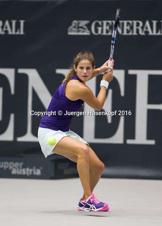 JULIA GOERGES (GER)<br /> <br /> Tennis - Ladies Linz 2016 - WTA -  TipsArena  - Linz - Oberoesterreich - Oesterreich - 13 October 2016. <br /> &copy; Juergen Hasenkopf