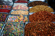 Candied sweets and nuts, Tianguis street market, Ajijic, Jaliso, Mexico.