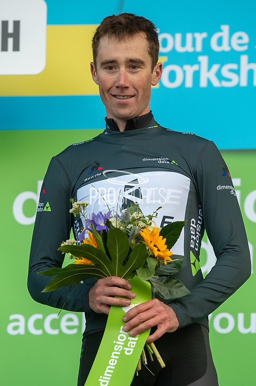 John Archibald of Ribble Pro Cycling wins digital dimension date jersey for most aggressive rider of the day during the third stage of the Tour de Yorkshire from Bridlington to Scarborough, , United Kingdom on 4 May 2019.