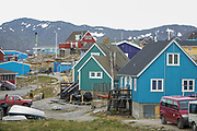 Ilulissat (Jakobshavn), Pakitsup Nuna, GRL, 20070622:   The glaciers of Greenland are melting. Pro's and cons.<br /> Photo: Orjan F. Ellingvag/ Dagens Naringsliv/ Corbis