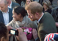09.01.2018; London, England: MEGHAN MARKLE AND PRINCE HARRY VISIT BRIXTON<br /> The newly engaged royal couple visited Reprezent 107.3FM in Brixton, to see their work supporting young people through creative training in radio and broadcasting, and to learn more about their model of using music, radio and media for social impact.<br /> This is Meghan and Harry&rsquo;s first official visit in the capital.<br /> They are to be married on 19th May 2018 at Windsor Castle.<br /> Mandatory Photo Credit: &copy;Joe Dias/NEWSPIX INTERNATIONAL<br /> <br /> IMMEDIATE CONFIRMATION OF USAGE REQUIRED:<br /> Newspix International, 31 Chinnery Hill, Bishop's Stortford, ENGLAND CM23 3PS<br /> Tel:+441279 324672  ; Fax: +441279656877<br /> Mobile:  07775681153<br /> e-mail: info@newspixinternational.co.uk<br /> Usage Implies Acceptance of Our Terms &amp; Conditions<br /> Please refer to usage terms. All Fees Payable To Newspix International