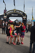 The Cheltenham Festival Ladies Day. Cheltenham Spa. 11 March 2015