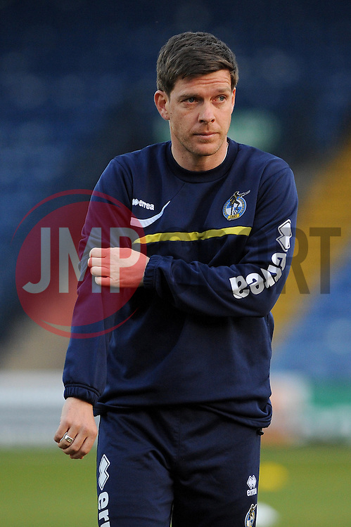 Bristol Rovers Manager, Darrell Clarke - Photo mandatory by-line: Dougie Allward/JMP - Mobile: 07966 386802 01/04/2014 - SPORT - FOOTBALL - Bury - Gigg Lane - Bury v Bristol Rovers - Sky Bet League Two