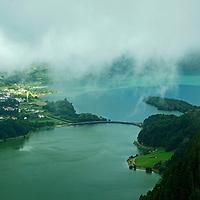 Sete Cidades Lakes, Azores.